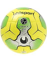 Uhlsport 1001545012016Liga 2balón de Match, color amarillo/plata/verde, talla 5
