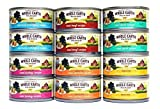 Merrick Whole Earth Farms Grain Free Wet Cat Food Variety Box - 6 Flavors - 2.75 oz. Each (12 Total Cans) by Merrick