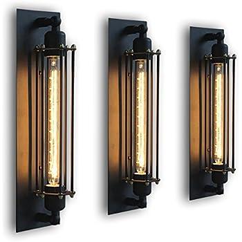 Ourleeme applique murale corridor lampe industrielle - Lampe murale industrielle ...