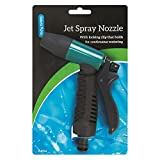 Jet Spray Hose Gun Nozzle Watering Gardening Hosepipe Extension Attachment Pipe