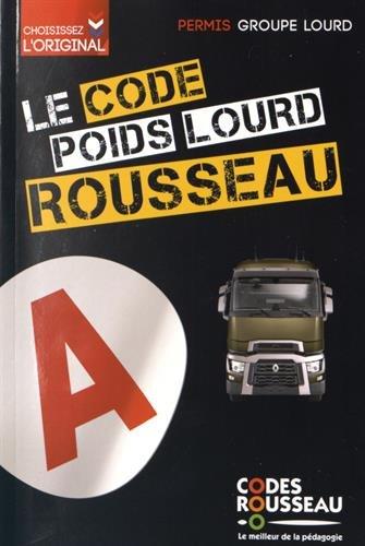Code Rousseau poids lourd 2016