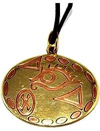 Brass Voodoo Talisman Pendant Incite Lust