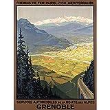Wee Blue Coo LTD Alps Route Lyon Paris Mountains Landscape