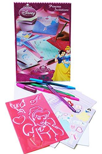 Unbekannt Karten Bastelset -  Disney Pincess  - basteln Kartenbasteln - Einladungskarten schreiben - Prinzessin - Scrapbooking / Briefe schreiben - ()
