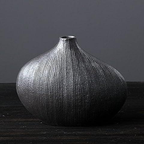 Decorative design rettangolare vaso di fiori in ceramica, finitura lucida liscia vase14* 11,5