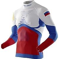 X-Bionic Hombre xpatriot ACC Evo UW Camiseta Lg LS.Turtle Neck Ropa Interior, hombre, PATRIOT ACC_EVO UW SHIRT LG_LS.TURTLE NECK, Russia