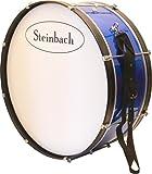 Steinbach Marching Bassdrum 25 Zoll x 10 Zoll mit Trageriemen