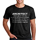 Photo de Architecte T-Shirt Dictionary Wizard Architecte Tee Homme's Shirt Cadeau Architecte par Awesome Architect T-shirts