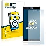 BROTECT AirGlass Protector Pantalla Cristal Flexible Transparente para KingZone K2 Protector Cristal Vidrio - Extra-Duro, Ultra-Ligero, Ultra-Claro
