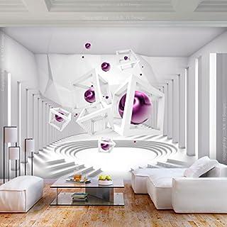 Decomonkey | Fototapete 3d Effekt 250x175 Cm XL | Tapete | Fototapeten |  Vlies Tapeten |