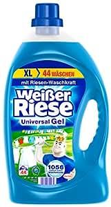 Weißer Riese Universal Gel, 1er Pack (1 x 44 Waschladungen)