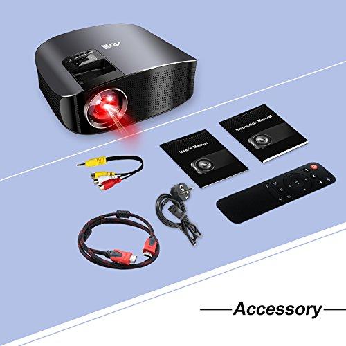 Artlii Home Theater Projector Black