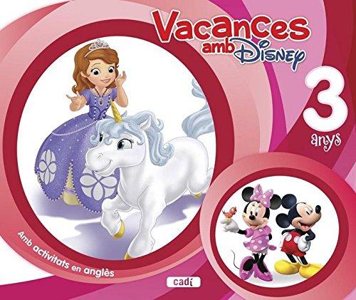 Vacances amb Disney. 3 anys: Amb activitats an anglès