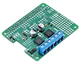 Pololu Motor Driver Shield for Raspberry Pi Dual Freescale MC33926 to Drive a Pair of Bidirectional Brushed DC Motors Ultrasonic Frequencies Allow 5-28V 3A 2756