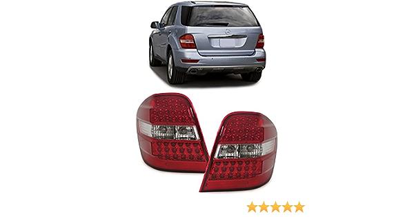 Tenzo R 34011 Led Rückleuchten Rot Klar Auto
