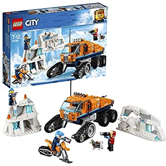 LEGO City Ártico – Vehículo de Exploración, Juguete de Construcción de Aventuras en la Nieve, Incluye Todoterreno con Ruedas de Oruga (60194)