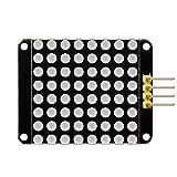 keyestudio rot Farbe Gemeinsame Kathode I2C 8* 8LED Dot Matrix Modul ht16K33Für Arduino