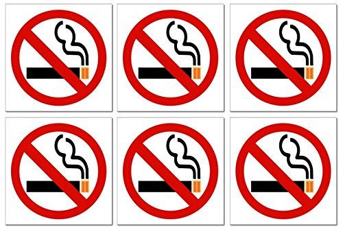 15,2cm No Smoking