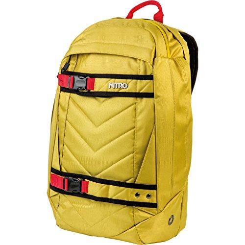 Nitro Aerial Rucksack, Multifunktionsrucksack, Schulrucksack, Daypack, Schoolbag, Sportrucksack, Rucksack mit Tragesystem für Skateboards,