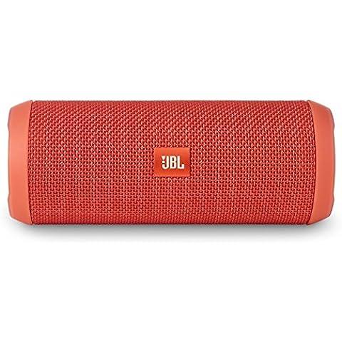 JBL Flip 3 - Altavoz portátil (Bluetooth, Micro USB, 3000 mAh) color naranja