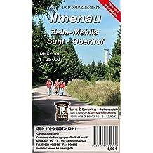 Ilmenau - Zella-Mehlis - Suhl - Oberhof: Rad- und Wanderkarte (wetterfest)