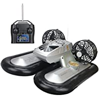 Price comparsion for Hugine Fast Speed RC Boat Radio Controlled Hovership Remote Control Hovercraft Boat Toy For Kids