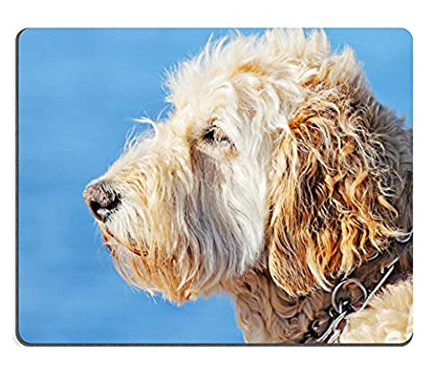 Mousepads Portrait of a Wheaten Terrier IMAGE ID 20452825 by Liili Customized Mousepads Stain Resistance Collector Kit Kitchen Table Top Desk Drink Customized Stain Resistance Collector Kit Kitchen Table Top