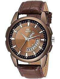 HEMT Analog Brown Dial Men's Watch-HM-GR066-BRW-BRW