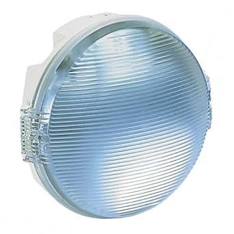 Legrand LEG62425 Hublot Koro Etanche rond IP54/IK08 pour Lampe 100 W Culot E27