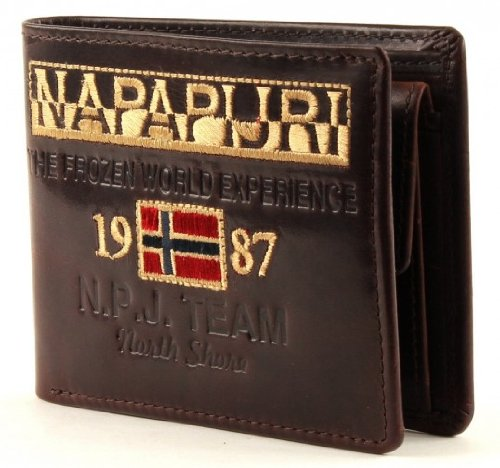 NAPAPIJRI Reisa Billfold 5 Coinpocket Brown