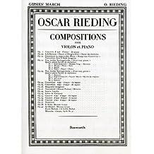Marche des Tziganes (Gipsies' March) Compositions pour violon et piano Op.23 n°2