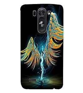 ColourCraft Angel Design Back Case Cover for LG D722K