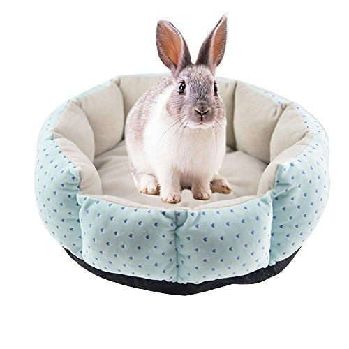 Rabbit - Alfombrilla de cama para gato de cobaya, ideal para invierno, ideal para hámster chinchilla.