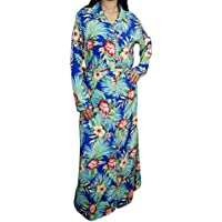 Women Long Maxi Dress Floral Casual Beach Evening Party Dresses Large