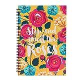 #5: Chumbak Rose Garden Spiral Notebook