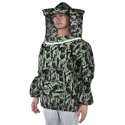 Jeffergrill Professional Imkerei Schutzmantel mit Mantel, Jacke, Anzug mit Hut