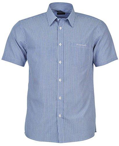 pierre-cardin-camisa-casual-para-hombre-multicolore-blue-wht-stripe-xl