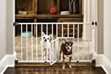Best Dog Gate - Carlson 0680PW Mini Gate with Pet Door, White Review
