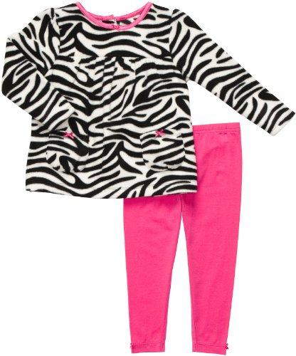 Carter's 2 teilig Pullover + Legging Baby Mädchen Zebra Outfit Kleidung Girl Fleece Girl - Carters Pullover
