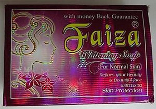 faiza Natural Herbal Whitening Soap for All Skin Types