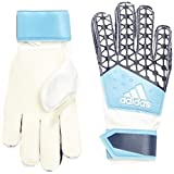 adidas Kinder Torwarthandschuhe ACE Junior Fingersave, Dark Lucky Blue S15/White, 4.5