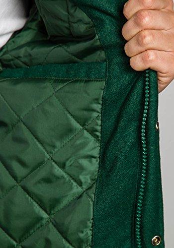 BOLF Herrenjacke Steppjacke Übergangsjacke mit Reißverschluss JOHN RICCI R31 Grün_K18