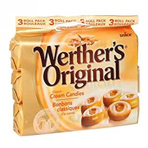 WERTHER'S ORIGINAL-WERTHER'S Caramel Pack de 3 150g