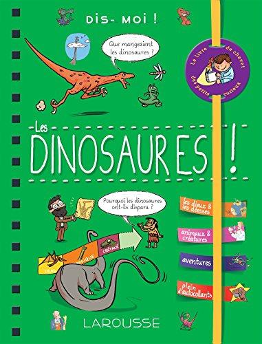 Dis-moi ! Les dinosaures par Sabine Jourdain