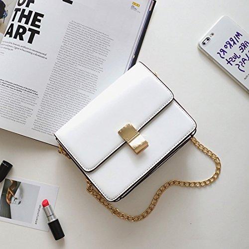 Taschen-Weise Des Paket von Phone Holder klein Paket quadratisch der Schulter der Tasche von Schulter weiß