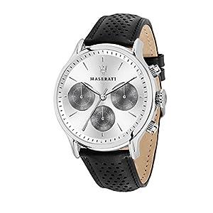 Maserati – Reloj de hombre con correa de piel
