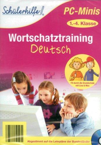 Schülerhilfe PC-Minis Wortschatztraining Deutsch 1.-4. Klasse