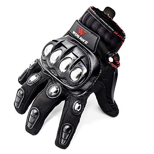 SEGRJ Unisex Motocross Racing Biker Motorrad Radfahren Voll-Finger-Handschuhe -