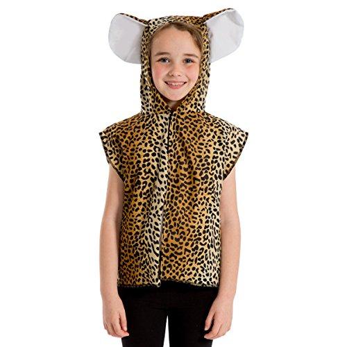 Unbekannt Charlie Crow Leopardenjunges Kostüm für Kinder. 3-8 Jahre.
