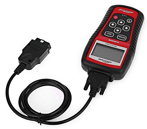 Konnwei KW808 Kfz Profi OBD2 OBDII Diagnosegerät Werkzeug Diagnose Scanner Auto-Tester Codeleser Multiplexer für OBD2 Fahrzeuge PKW LKW (Land Rover-scanner)